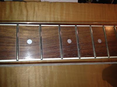 オレンジオイル ギター 指板 ローズウッド