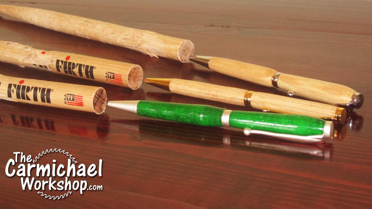 Homemade Drumstick Lathe 24