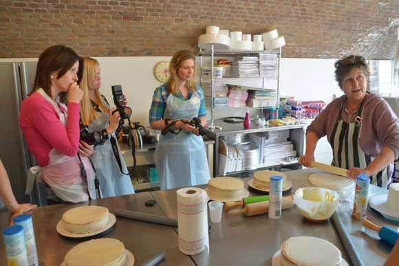 Dr. Oetker taart workshop en cupcake workshop