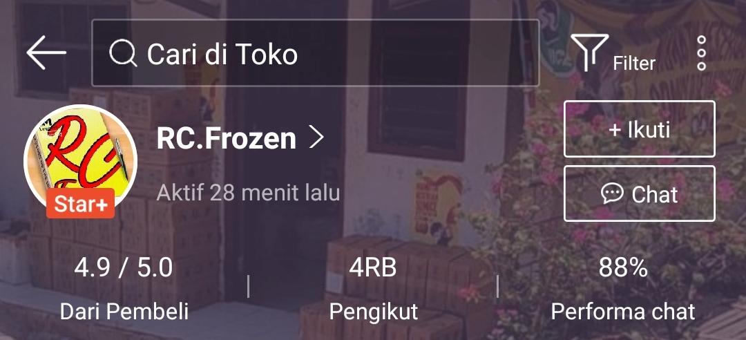 Rekomendasi Supplier Frozen Food di Shopee, Murah dan Terpercaya