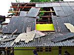 Puluhan Rumah warga Rusak diterjang Puting beliung di kecamatan Suela Lombok Timur