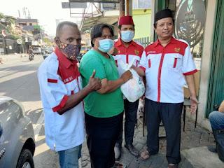 Salah satu kegiatan ormas Gercin di tengah pandemi di Jakarta