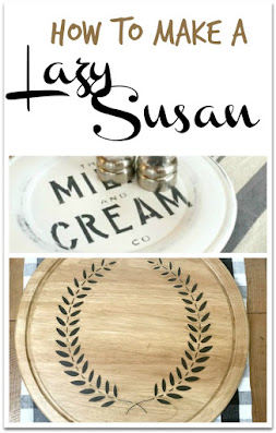 Lazy Susan pin for Pinterest