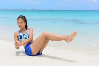 Giros laterales sentado, deporte y salud