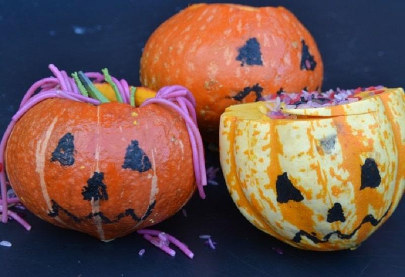 whats inside the pumpkin experiment
