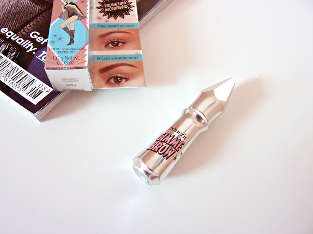 Free Benefit Gimme Brow with July's Glamour