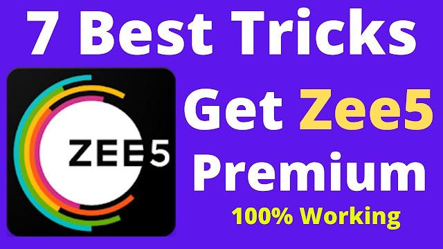 Zee5 Subscription Free