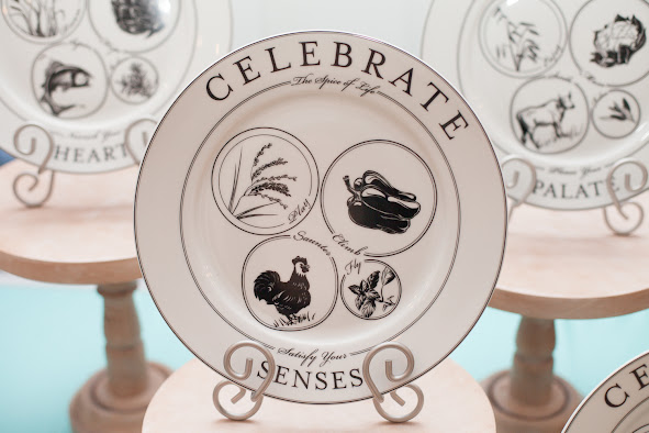 Celebrate Portion Control Dinnerware