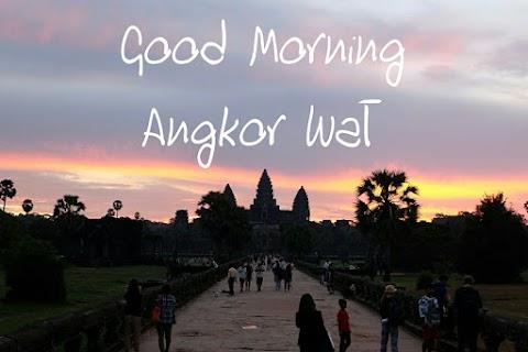 [ASEAN Trip - Day 5] Sunrise Tour Keliling Angkor Wat Siem Reap