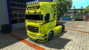 Royal Transports skin for Scania RJL