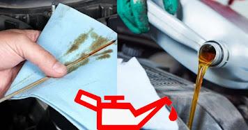 كيفة فحص جودة زيت محرك السيارة Engine Oil Condition طريقة سهلة لمعرفة أن زيت محرك السيارة يحتاج الى تغيير كيفية فحص جودة زيت المحرك