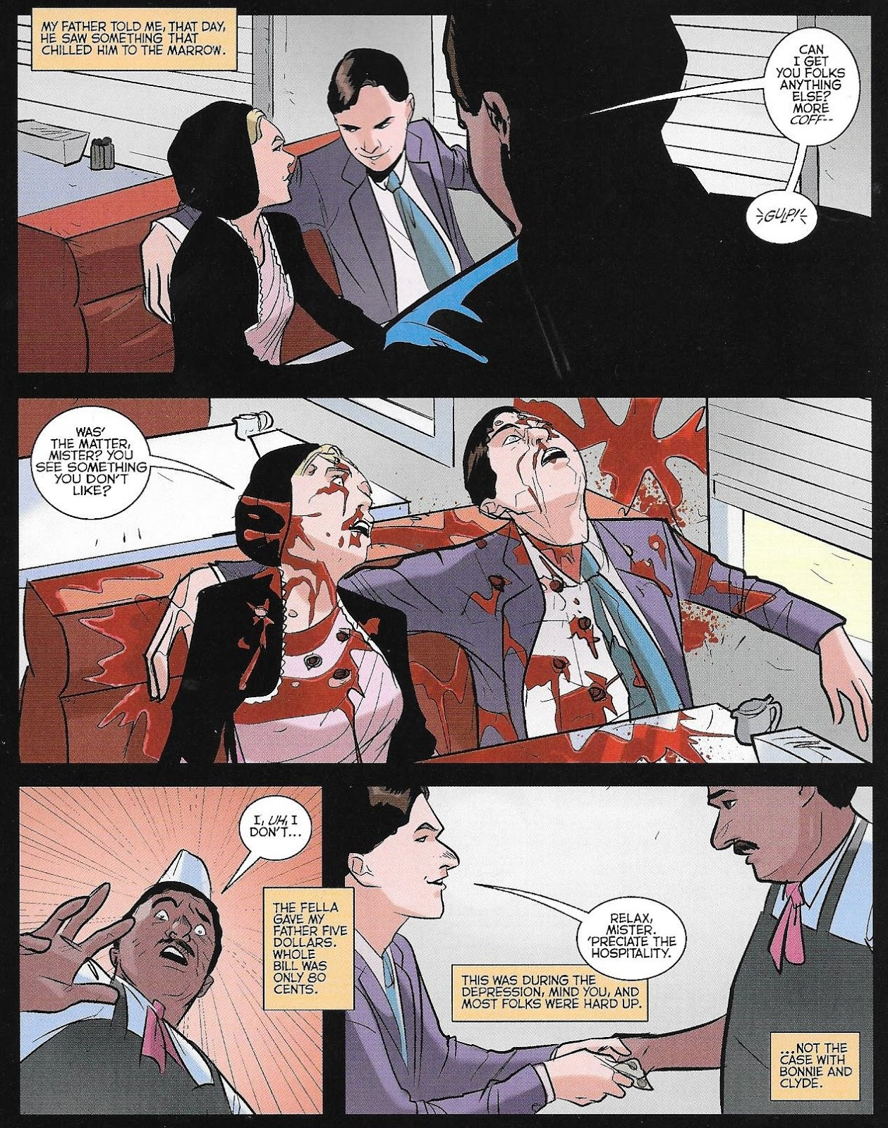 Jon's Blog: RIVERDALE #6: Did Pop Tate Sell His Soul to the Devil to