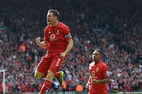 Milner - cầu thủ có tốc độ và tần suất chạy nhiều nhất trên sân của Liverpool