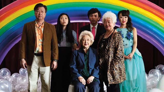Awkwafina Zhao Shuzhen Tzi Ma Lulu Wang   The Farewell