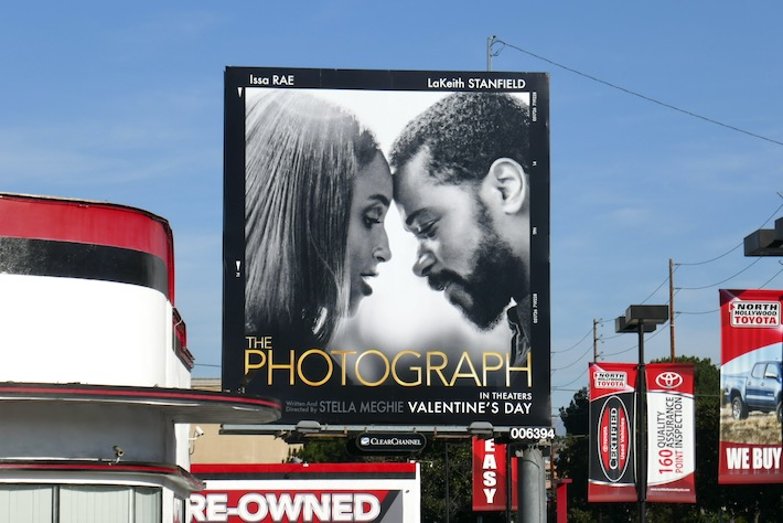 Photograph film billboard