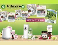 Con Air Wick e Botanica ricevi Set Tazze con Tovagliette e Cornice Tonki in regalo e vinci Tropea