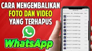 Cara Mendownload File yang Sudah Kadaluarsa di WhatsApp