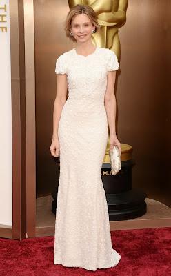 Oscars 2014 Calista Flockhart
