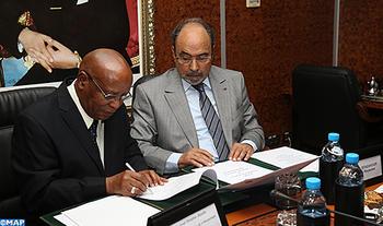 التوقيع على مذكرة تفاهم بين المغرب والموزمبيق في مجال الوساطة المؤسساتية