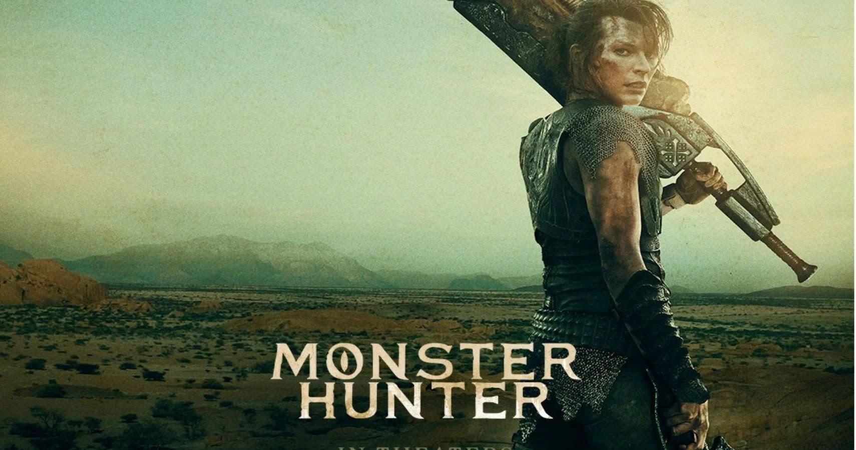 First short trailer for Monster Hunter reveals giant monsters cinema release in 2020
