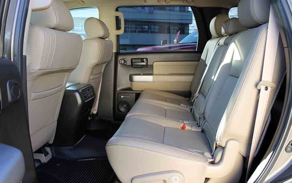 2017 Toyota Sequoia Re Exterior And Interior