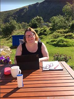 Gro Jeanette Nilsen blogger fra Nord-Norge-ferien.