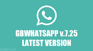 Download GBWhatsApp v7.25 Latest Version Android