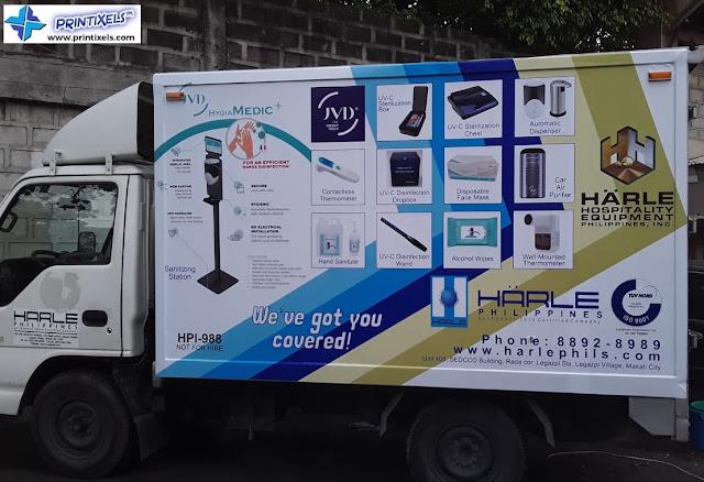 Full Truck Wrap - Hanle Philippines