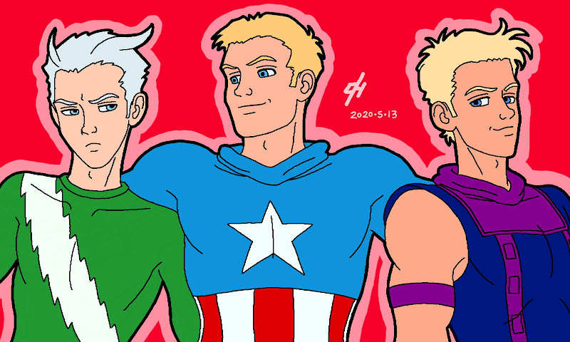 Cap's Kooky Threesome