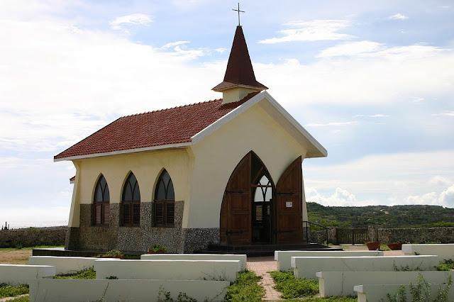 Templo cristiano en Aruba.