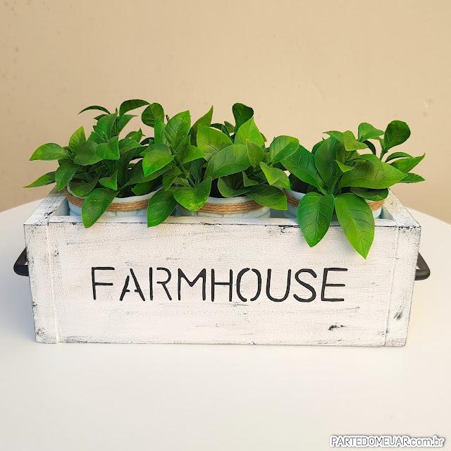 Decoração farmhouse