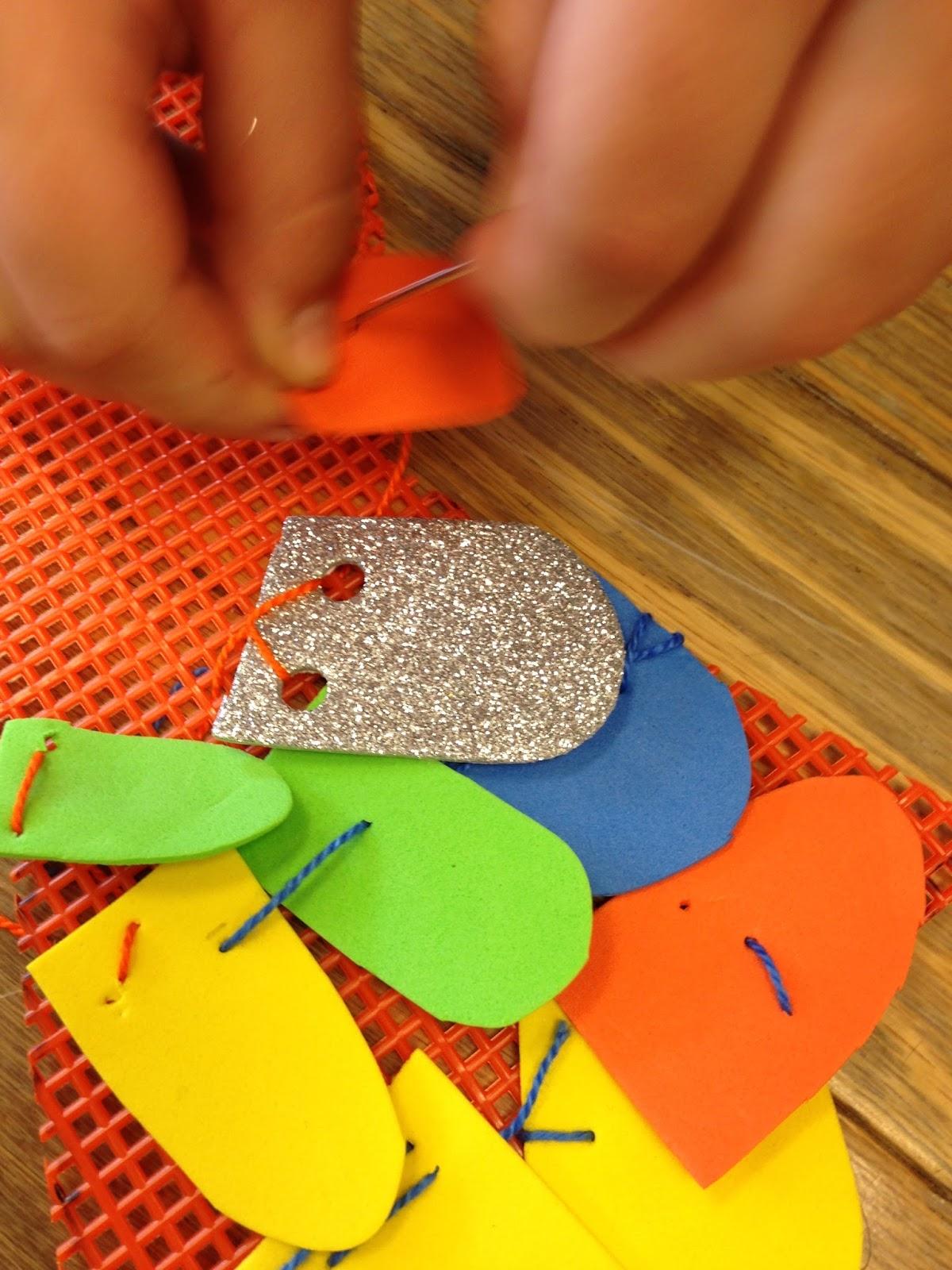 Sewing School Rainbow Fish