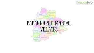Papannapet Mandal with villages