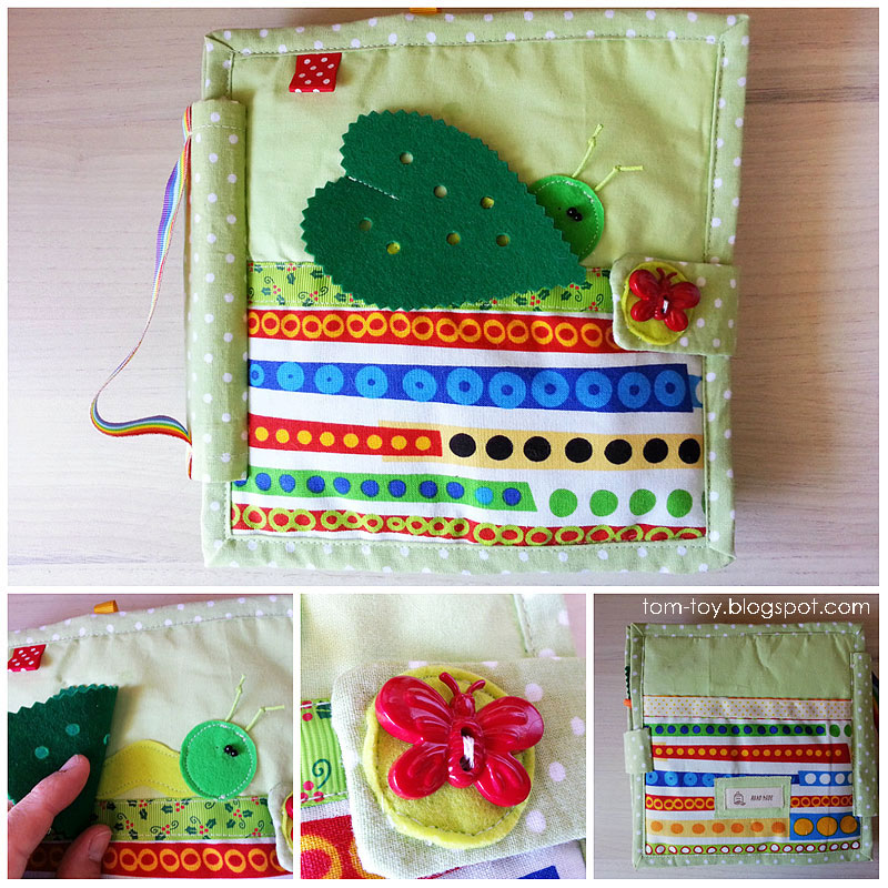 Quiet busy book The very hungry caterpillar, развивающая книжка очень голодная гусеница