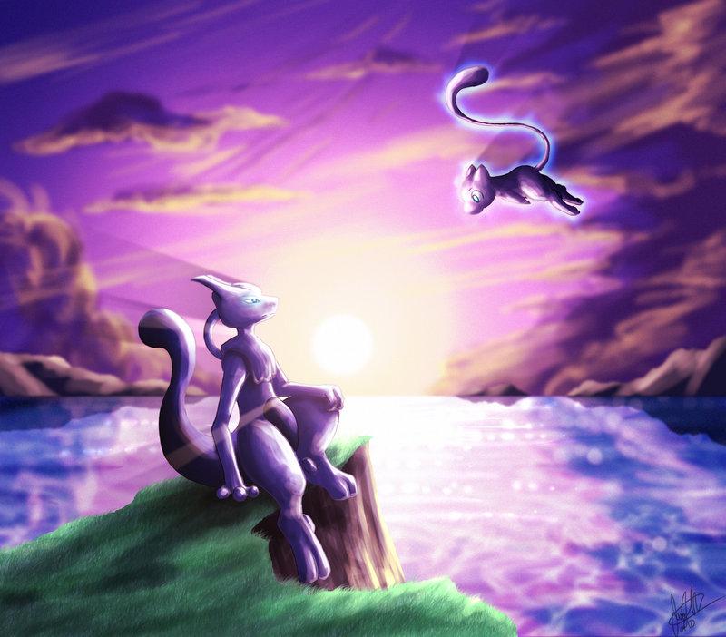 ancestors of all pokemon mew and mewtwo club the pokécommunity