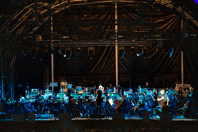Puccini: Tosca - David Junghoon Kim - ENO at South Facing Festival (Photo Lloyd Winters)