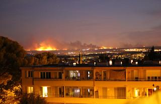 حرائق فرنسا
