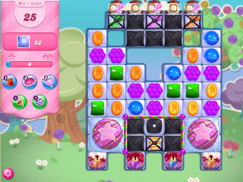 Candy Crush Saga level 4493