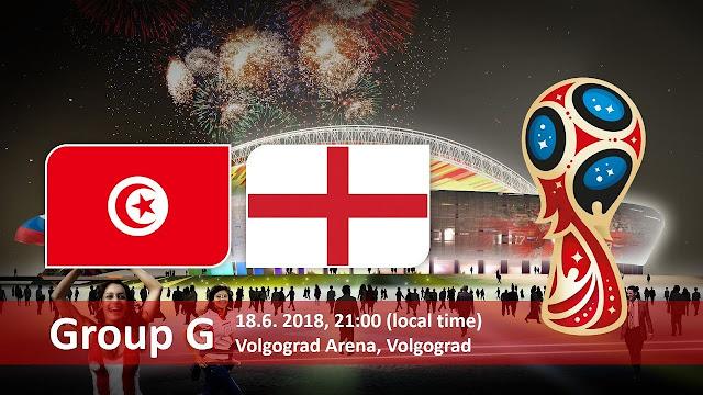 اهداف مباراة تونس وإنجلترا Tunisia vs England في مونديال 2018 في روسيا