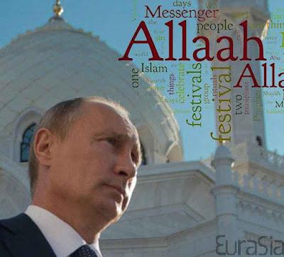Putin está se ficando como o maior beneficiado da invasão islâmica. Quem decifra a charada?