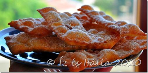 Olasz farsangi édességek