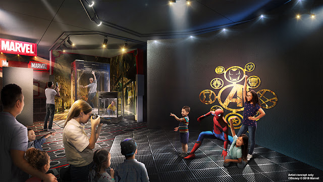 Disneyland Paris Media Expo 2020 Disney Park' Marvel Universe Avengers Campus The Art of Marvel  Spider-Man Meet and Greet巴黎迪士尼樂園