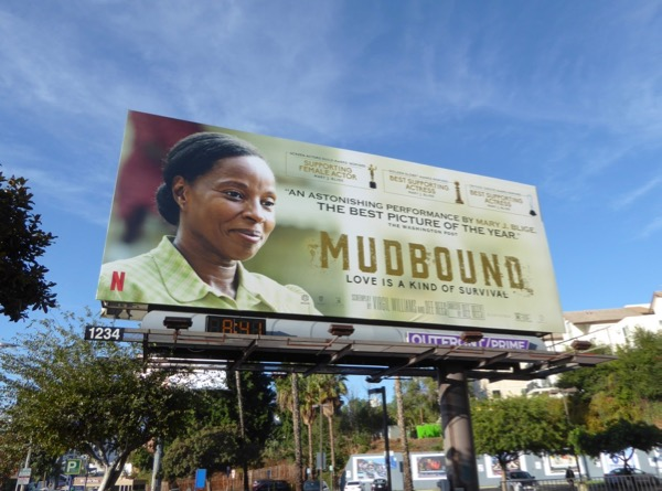 Mary J Blige Mudbound awards nominee billboard