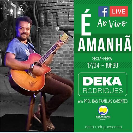 Live : Deka Rodrigues em Prol das Famílias Carentes de Sete  Barras