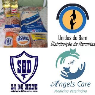 Itens básico Alimentação | Distribuição de Marmitas