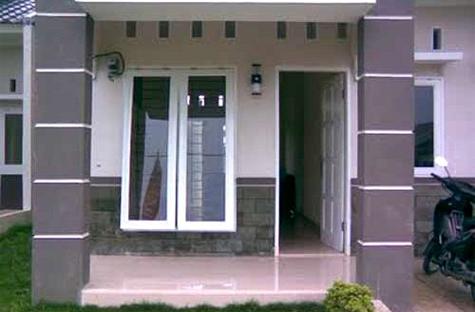 Tiang teras rumah & Reka bentuk motif tiang teras bahagian depan rumah moden minimalis ...