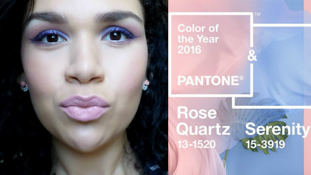 Vídeo: Tutorial com as cores de 2016 / Rose Quartz e Serenity
