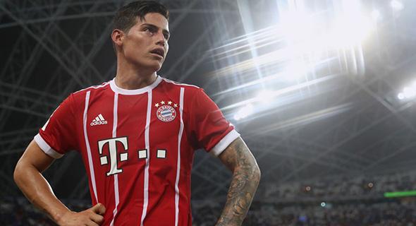 Kontrak James Rodriguez Dengan Bayern Munich Bocor?