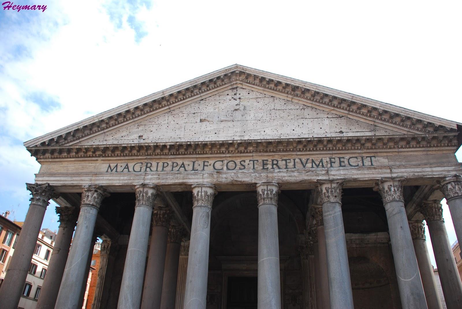 萬神殿|羅馬共和國時期阿格里巴|拜占廷皇帝將萬神廟獻給羅馬教皇卜尼法斯四世