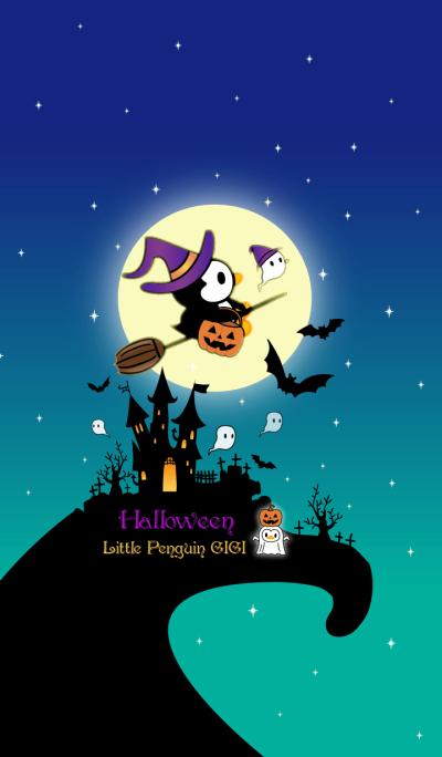 Little Penguin Gigi-Halloween